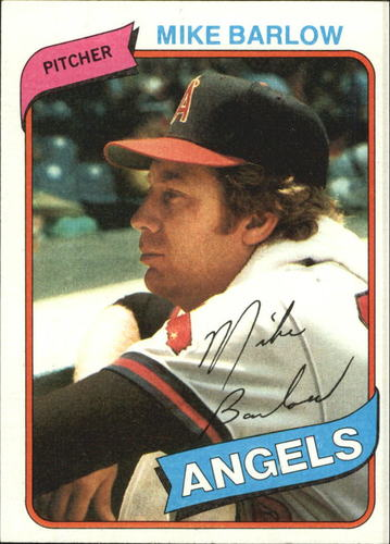 Photo of 1980 Topps #312 Mike Barlow