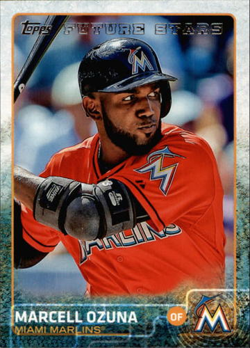 Photo of 2015 Topps #370 Marcell Ozuna FS