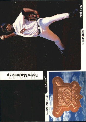 Photo of 1998 SPx Finite #335 Pedro Martinez TW