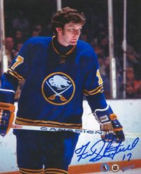 FRED STANFIELD Buffalo Sabres SIGNED 8x10 Photo