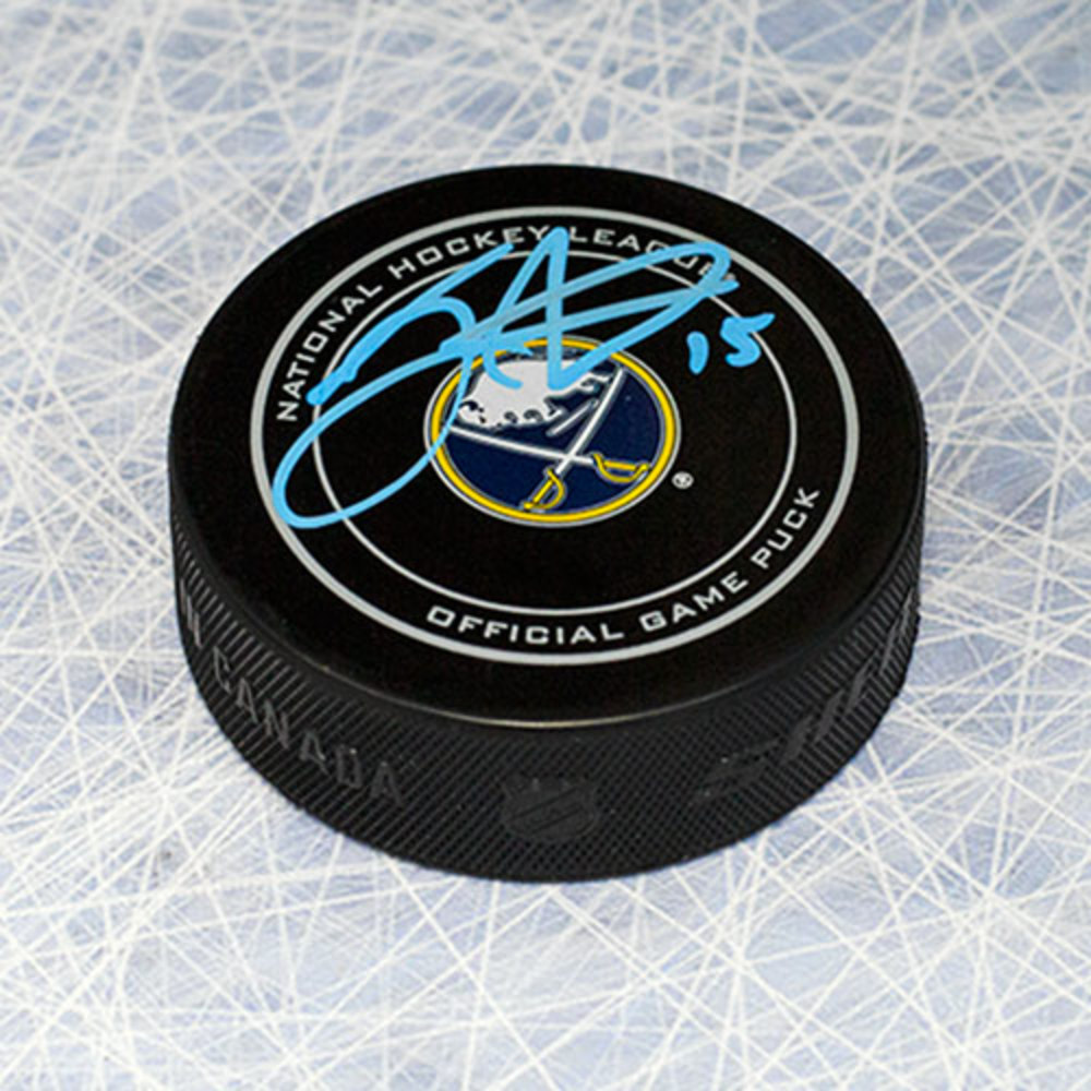 Jack Eichel Buffalo Sabres Autographed Official NHL Game Puck
