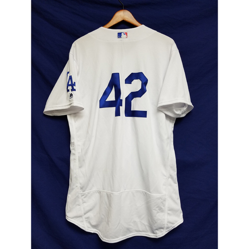 "Photo of Andrew Toles Game-Used ""42"" Jersey"