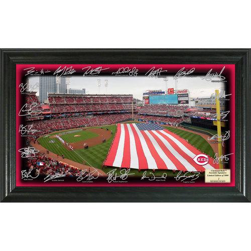 Photo of Serial #1! Cincinnati Reds 2017 Signature Field
