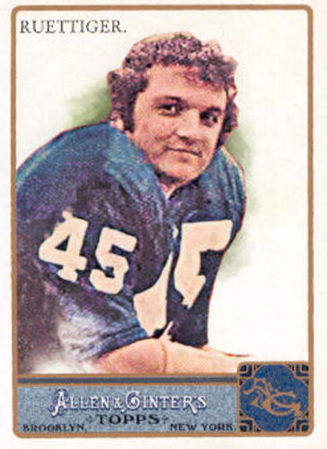 Photo of 2011 Topps Allen and Ginter #238 Rudy Ruettiger