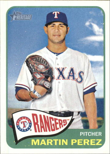 Photo of 2014 Topps Heritage #H513 Martin Perez