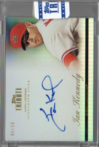 Photo of 2012 Topps Tribute Autographs #IKE Ian Kennedy