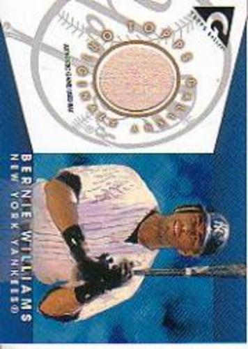 Photo of 2005 Topps Gallery Originals Relics #BW Bernie Williams Bat