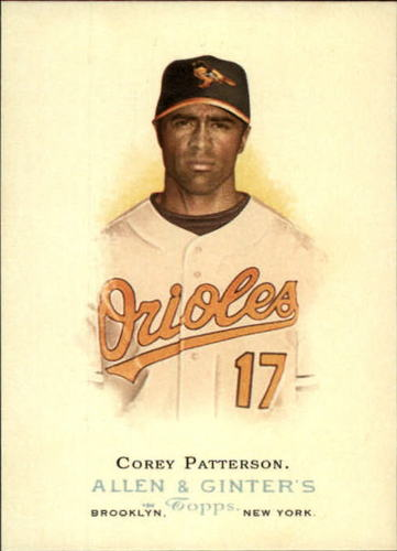 Photo of 2006 Topps Allen and Ginter #227 Corey Patterson