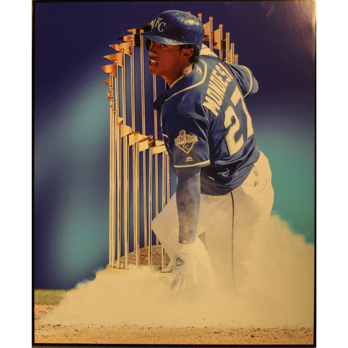 """Photo of Raul Mondesi Clubhouse Poster (22"""" X 28"""")"""