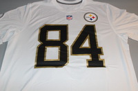 NFL - STEELERS ANTONIO BROWN 2016 PRO BOWL WHITE T-SHIRT WITH NAME AND NUMBER - SIZE L