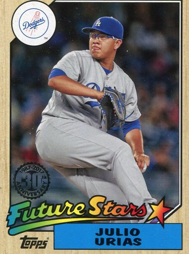 Photo of 2017 Topps '87 Topps #8770 Julio Urias