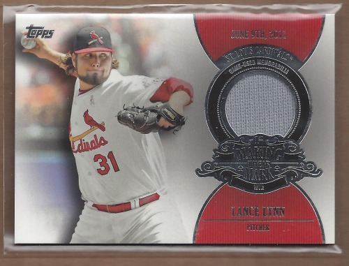Photo of 2013 Topps Making Their Mark Relics #LL Lance Lynn