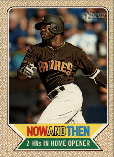 Photo of 2017 Topps Heritage Now and Then #NT6 Manny Margot