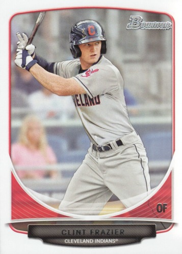 Photo of 2013 Bowman Draft Draft Picks #BDPP15 Clint Frazier -- Yankees post-season