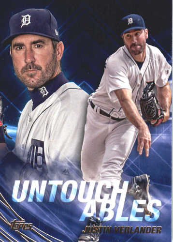 Photo of 2017 Topps Update Untouchables #U4 Justin Verlander