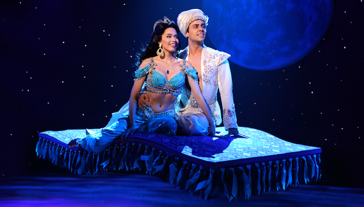 ALADDIN ON BROADWAY & MEET A LEAD ACTOR IN NYC - PACKAGE 2 OF 4