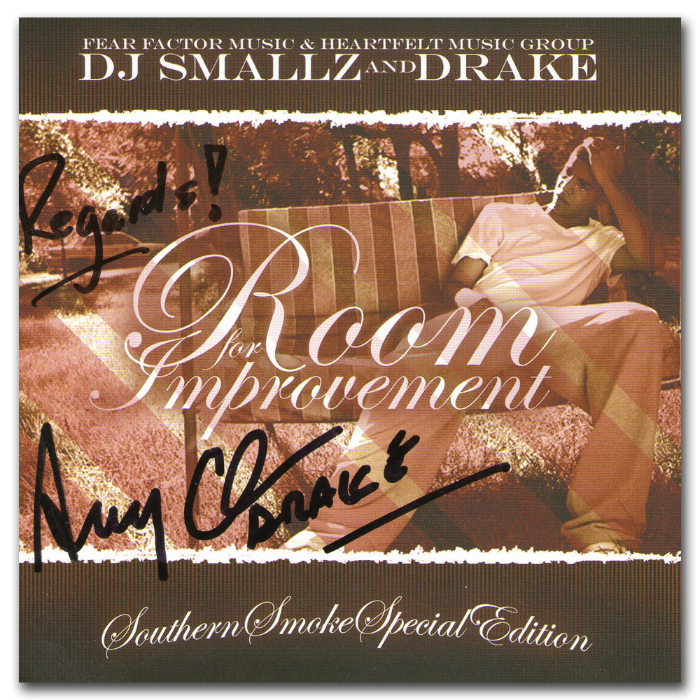 Drake Autographed CD - Room for Improvement - NHL Auctions