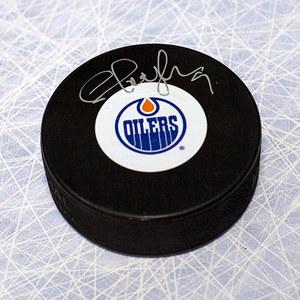 Shayne Corson Edmonton Oilers Autographed Hockey Puck