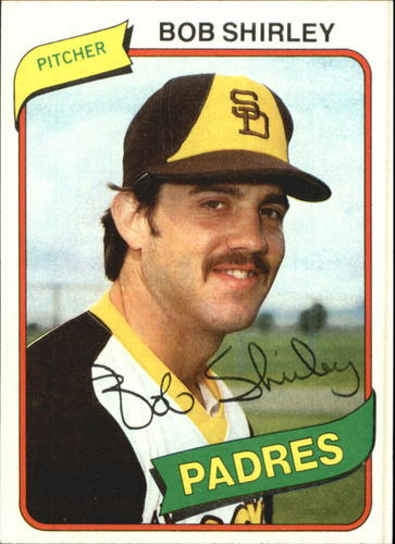 Photo of 1980 Topps #476 Bob Shirley