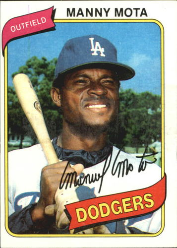 Photo of 1980 Topps #104 Manny Mota