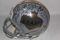 NFL - 2015 MULTI SIGNED DRAFT PROLINE HELMET 41 SIGNATURES INCLUDING (JAMEIS WINSTON MARCUS MARIOTA KEVIN WHITE MELVIN GORDON TODD GURLEY AND OTHERS)