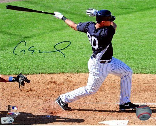 Photo of Gary Sanchez Autographed 8x10