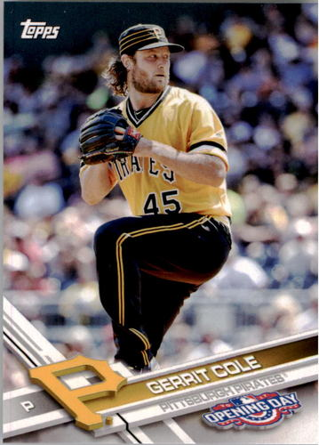 Photo of 2017 Topps Opening Day #144 Gerrit Cole