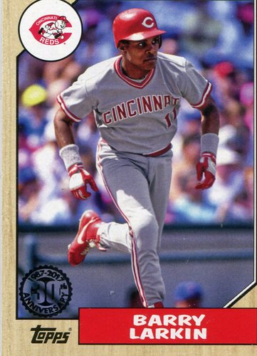 Photo of 2017 Topps '87 Topps #8771 Barry Larkin
