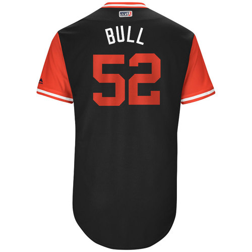 "Photo of Zack ""Bull"" Godley Arizona Diamondbacks Game-Used Players Weekend Jersey"