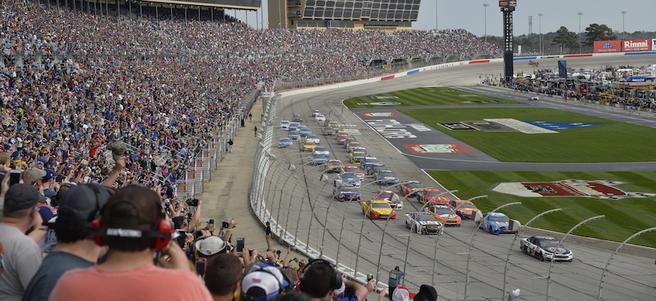 NASCAR FOLDS OF HONOR QUIKTRIP 500 AT ATLANTA MOTOR SPEEDWAY - PACKAGE 3 of 6