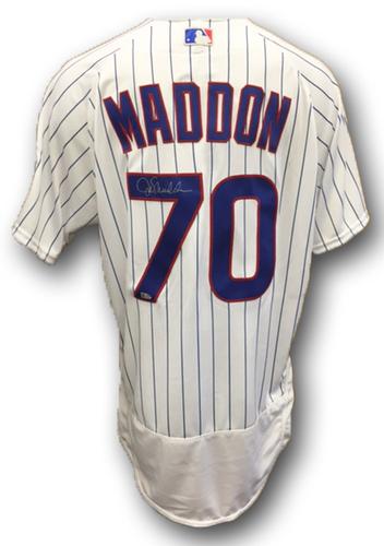 Photo of Joe Maddon Autographed Jersey