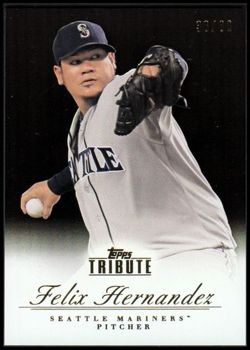 Photo of 2012 Topps Tribute Black #30 Felix Hernandez