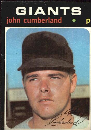 Photo of 1971 Topps #108 John Cumberland