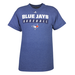 Toronto Blue Jays Past Time Short Sleeve T-Shirt by Majestic