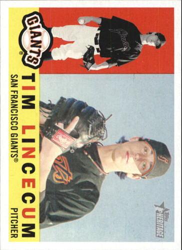 Photo of 2009 Topps Heritage #165 Tim Lincecum