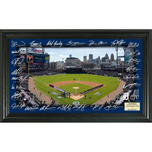 Photo of Serial #1! Detroit Tigers 2017 Signature Field