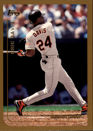 Photo of 1999 Topps #153 Eric Davis