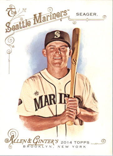 Photo of 2014 Topps Allen and Ginter #289 Kyle Seager