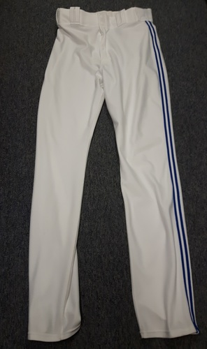 Photo of Authenticated Team Issued White Pants - #36 Drew Hutchison (2015 Season). Size 35-44 36 OB.