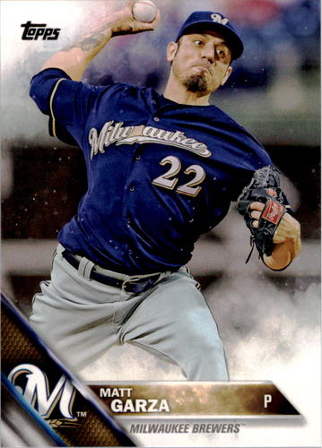Photo of 2016 Topps #228 Matt Garza