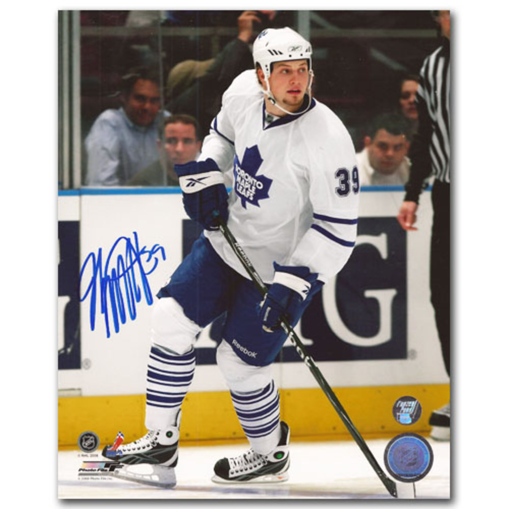 John Mitchell Autographed Toronto Maple Leafs 8X10 Photo