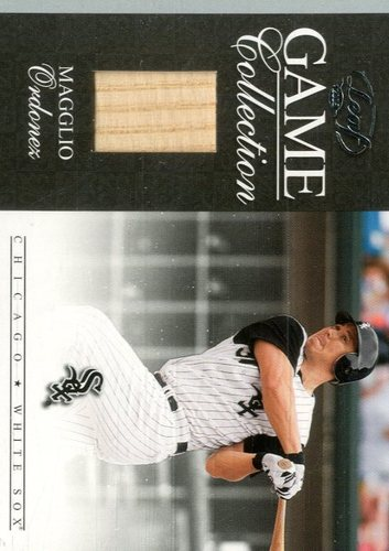 Photo of 2005 Leaf Game Collection #9 Magglio Ordonez Bat