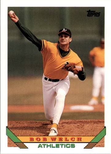 Photo of 1993 Topps #705 Bob Welch