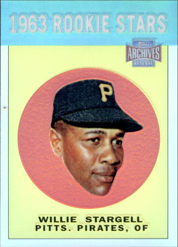 Photo of 2001 Topps Archives Reserve #96 Willie Stargell 63