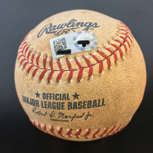 Photo of Game-Used Baseball: Carlos Correa Strikeout