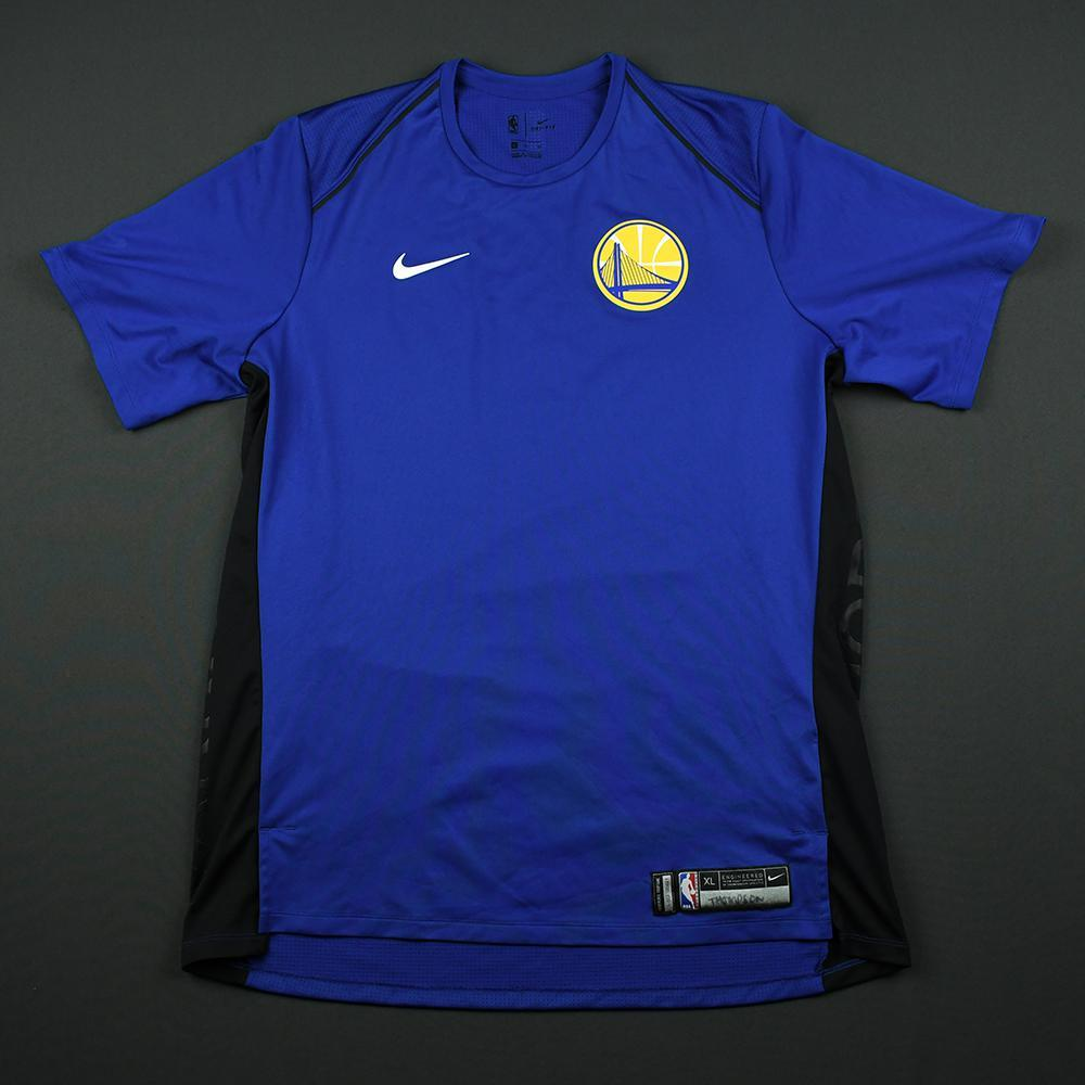 Klay Thompson - Golden State Warriors - 2018 JBL Three-Point Contest - Event-Worn Shooting Shirt