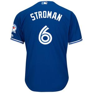 Men's 40th Season Cool Base Replica Marcus Stroman Alternate Jersey by Majestic