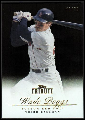 Photo of 2012 Topps Tribute Black #56 Wade Boggs