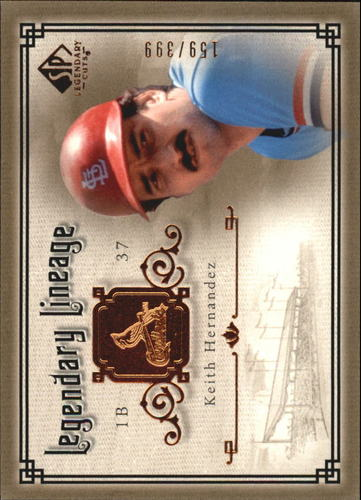Photo of 2005 SP Legendary Cuts Legendary Lineage #KH Keith Hernandez