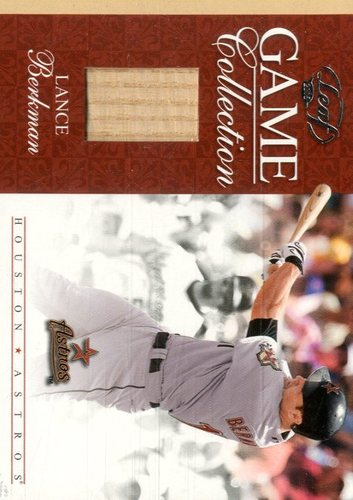 Photo of 2005 Leaf Game Collection #10 Lance Berkman Bat